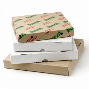 10 X 10 X 1.5 Pizza Box Printed