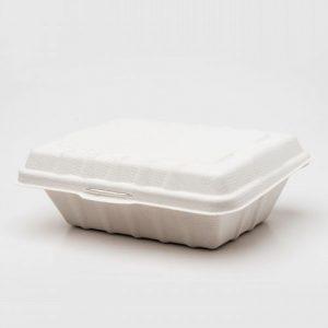 Earthmate Biodegradable Meal Clamshell