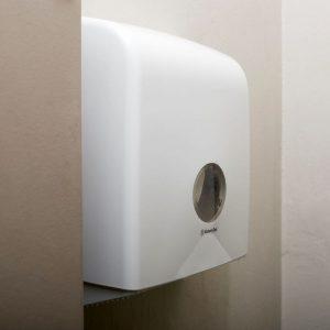Aquarius Toilet Tissue Dispenser